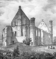 Château de Montargis - démolition