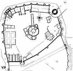 Plan du château de Montargis