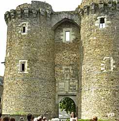 Château de Châteaubriant (Département de Loire-Atlantique)