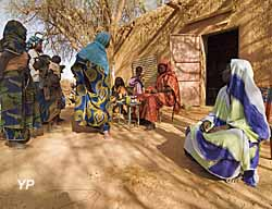 Mali : exposition temporaire sur l'hôpital des Nomades et l'oeuvre de sœur Anne-Marie-Salomon (doc. Richard Tardivo)