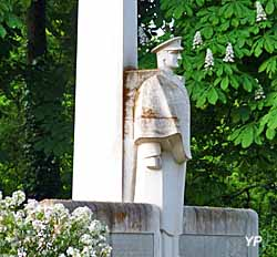 Monument du commandant Guilbaud (Mairie de Mouchamps)
