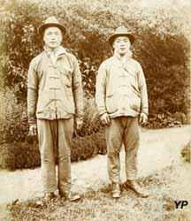 Travailleurs chinois à Dunkerque (Archives Municipales de Dunkerque)