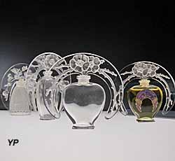 Musée Lalique - flacons de parfum (Musée Lalique)