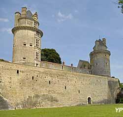 Château d'Apremont (Vendée des Îles)