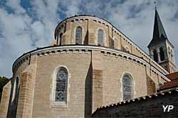 Église Sainte-Marie Madeleine - chevet (Les Amis du Vieux Thoissey)