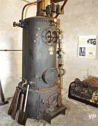 Maison de la Distillation - chaudière