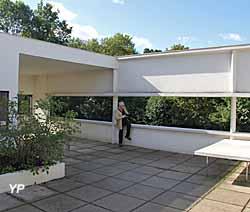 Villa Savoye, jardin suspendu