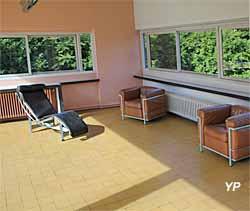 Villa Savoye, salle de séjour