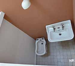 Villa Savoye, cabinet de toilette de la chambre d'amis