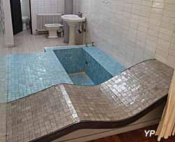 Villa Savoye, méridienne et salle de bains des parents