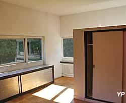 Villa Savoye, chambre du fils