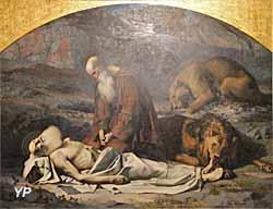 Cathédrale Notre-Dame du Puy - mort de saint Paul ((Charles Nègre, XIXe s.)