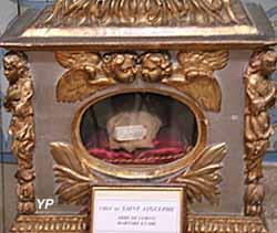 Cathédrale Notre-Dame du Puy, reliques de saint Aygulph