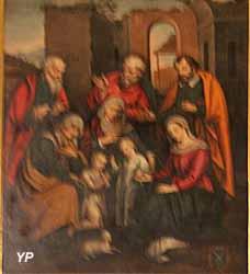 Cathédrale Notre-Dame et Saint-Thyrse - Parenté de la Vierge
