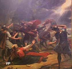 La conversion de saint Paul sur le chemin de Damas (Joseph Chabord, 1831)