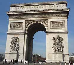 Arc de Triomphe de la place de l'Etoile