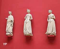 Charles VI, Isabeau de Bavière et Jeanne de Boulogne - Palais de justice de Poitiers