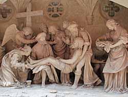 Mise au tombeau, Église Saint-Etienne à Saint-Mihiel (55)