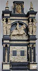 Cathédrale Notre-Dame, tombeau de Louis de Brézé (reproduction)