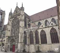 transept Sud de la cathédrale Saint-Etienne