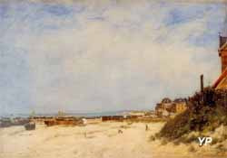 Eugène BOUDIN, Berck, le rivage, 1881