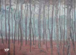 Pierre BILLET, Forêt de pins au Touquet, 1907