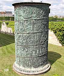Moulage de la partie basse de la colonne Trajane
