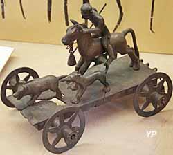 Char miniature de Mérida (Espagne) - Ve-IIe s. av. JC