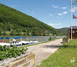 Bateaux électriques (doc. Office de Tourisme de Val d'Ardenne)