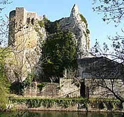 Roquemaure - ruines du château royal (doc. Office de Tourisme de Roquemaure)