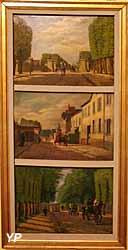 Grille du boulevard du Roi, Grille de la rue de l'Ermitage, Grille du boulevard de la Reine (Auguste-Alexandre Baudran) - Musée Lambinet