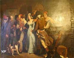 L'arrestation de Charlotte Corday (Henry Scheffer) - Musée Lambinet