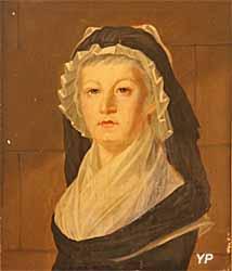 Portrait de Marie-Antoinette au Temple (Alexandre Kucharski) - Musée Lambinet