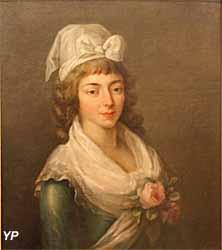 Portrait de Madame Roland (Alexandre Kucharski) - Musée Lambinet
