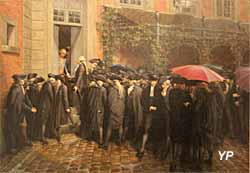 Messieurs du Tiers avant la séance royale (Lucien Melingue) - Musée Lambinet