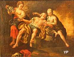 Les filles de Loth enivrant leur père (François Le Moine ou Le Moyne) - Musée Lambinet