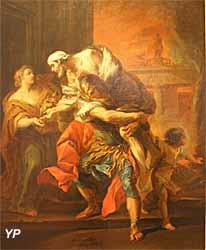 Enée portant son père Anchise (Carle Van Loo) - Musée Lambinet