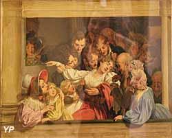 L'effet du mélodrame (Louis-Léopold Boilly) - Musée Lambinet