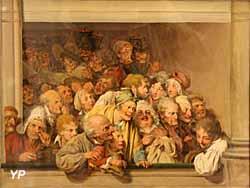 Une loge, un jour de spectacle gratuit (Louis-Léopold Boilly) - Musée Lambinet