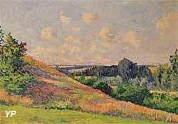 Paysage de Normandie : Bazincourt (Maximilien Luce) - Musée Lambinet