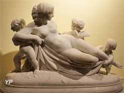 Rêverie, marbre (Henri Magniant) - Musée Lambinet
