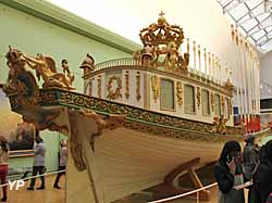 Canot de l'Empereur - Musée national de la Marine