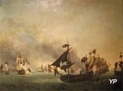 Combat de la Grenade, 2 juillet 1779 (Jean-François Hue) - Musée national de la Marine
