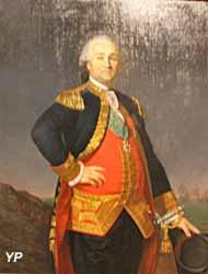 Portrait du vicomte de Beaumont (huile sur toile, Henri J. François, 1781) - Musée national de la Marine