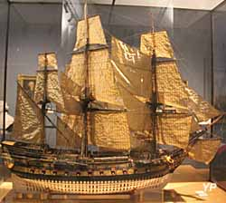 Le Protecteur (maquette, vers 1770)