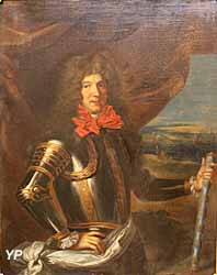 Portrait du comte de Tourville (huile sur toile, XVIIe s.) - Musée national de la Marine