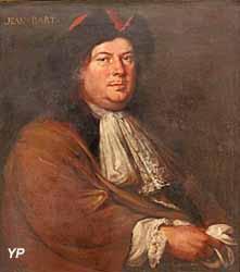 Portrait de Jean Bart (huile sur toile, Mathieu Elias, XVIIIe s.) - Musée national de la Marine