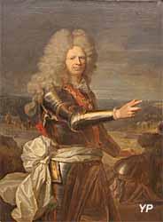 Portrait de l'amiral Jean-Baptiste Ducasse (huile sur toile, Hyacinthe Rigaud, XVIIIe s.) - Musée national de la Marine