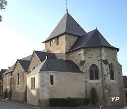 église de Marigné (doc. Yalta Production)