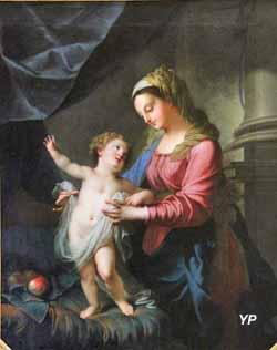 Cathédrale Saint-Louis - La Vierge à l'Enfant (Pierre Mignard)